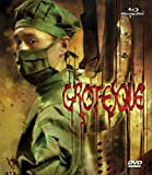 Grotesque Blu-ray DVD Combo cover.