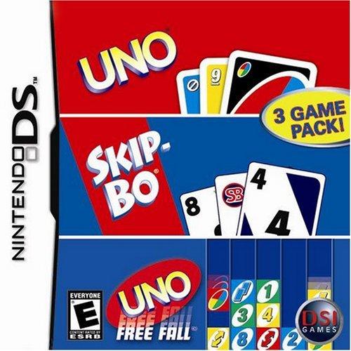 Uno/Skip-Bo/Uno Freefall - Nintendo DS by Destination Software