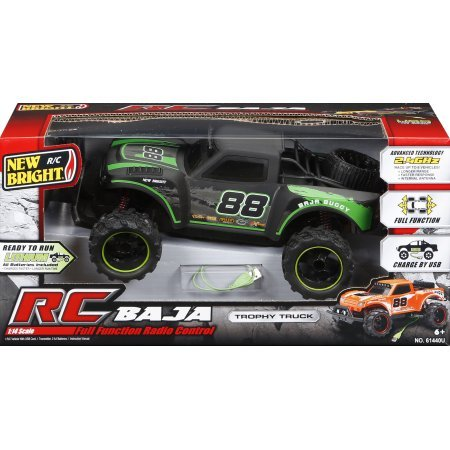 - Fully Functional Radio Control Baja Trophy Buggy - Black