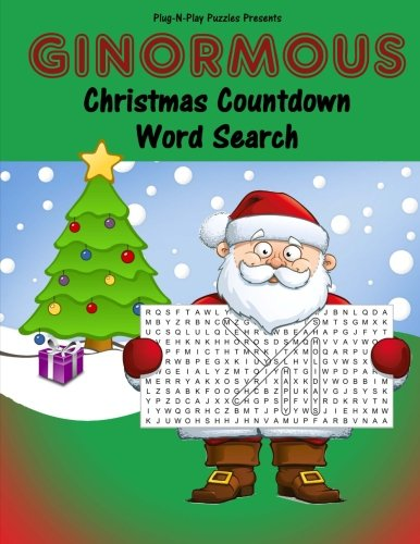 Ginormous Christmas Countdown Word Search: Plug-N-Play Puzzles ...