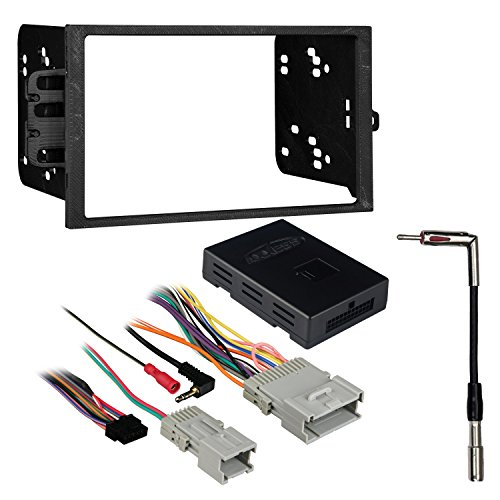 Metra 95-2001 2-DIN Dash Kit + OnStar Amplified Interface for Select 2000-09 (2 Onstar Interface)