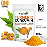 Organic Turmeric Powder - One Pound. GMO Free. Anti-inflammatory. Supercharge your Smoothies, Recipes & Golden Paste! Certified Organic - 100% Guaranteed