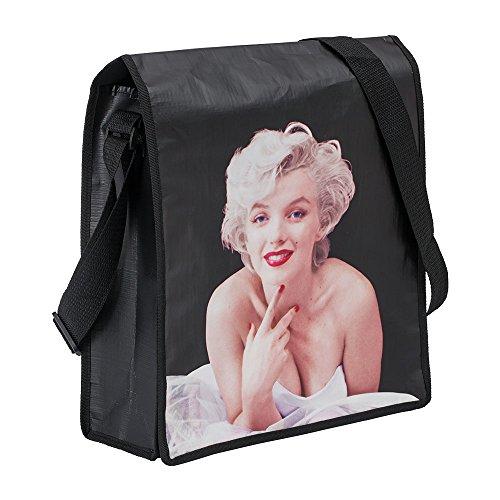 Vandor Marilyn Monroe Recycled Messenger Tote (70007) ()
