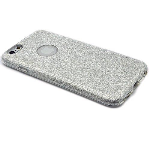 Sunroyal®iPhone 6 PLUS / 6S PLUS de 5.5 Case Funda Lujo Ultralight Carcasa Cover , Brillante Cuerpo Brillo Luxury Bling Caja de Ultra Delgada TPU Suave Silicona Protector Telefono Shell Image7