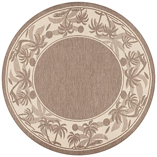 (Couristan 1222/0722 Recife Island Retreat Beige/Natural Rug, 7-Feet 6-Inch)