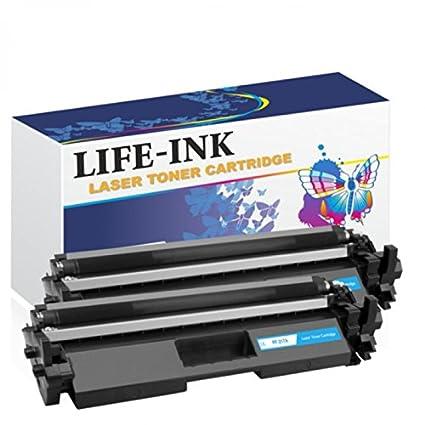 Life de tóner Ink (2 unidades, sustituye a HP cf217 a, 17 A para ...