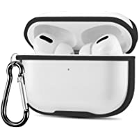 Transparent Clear Soft Plastic Protective Case Cover For Airpods Pro - Black