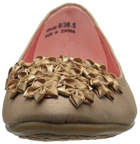 Flat von CL Happy M Laundry 6 Life Chinese Beige Sand Organza US Ballet Womens fwwx0R