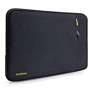 "tomtoc 360° Protective Laptop Sleeve for 2018 New MacBook Air 13-inch with Retina Display A1932 | 13"" New MacBook Pro Touch Bar A1706 & A1708, Shockproof 13 Inch Laptop Tablet Bag"