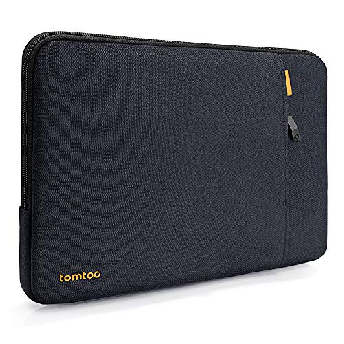 tomtoc 360 Protective Laptop Sleeve for 13-inch New MacBook Air with Retina Display A1932, 13 Inch New MacBook Pro with USB-C A2159 A1989 A1706 A1708, Notebook Bag with Accessory Pocket (Best Laptop Sleeve For Macbook Pro 13)