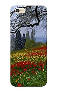 New Arrival Tulips Under The Old Tree For Iphone 6 Plus Case Cover Pattern For Gifts
