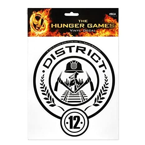 Amazon The Hunger Games Movie District 12 Laptop Decals By