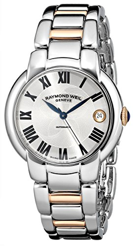 Raymond-Weil-Womens-2935-S5-01659-Jasmine-Analog-Display-Swiss-Automatic-Two-Tone-Watch