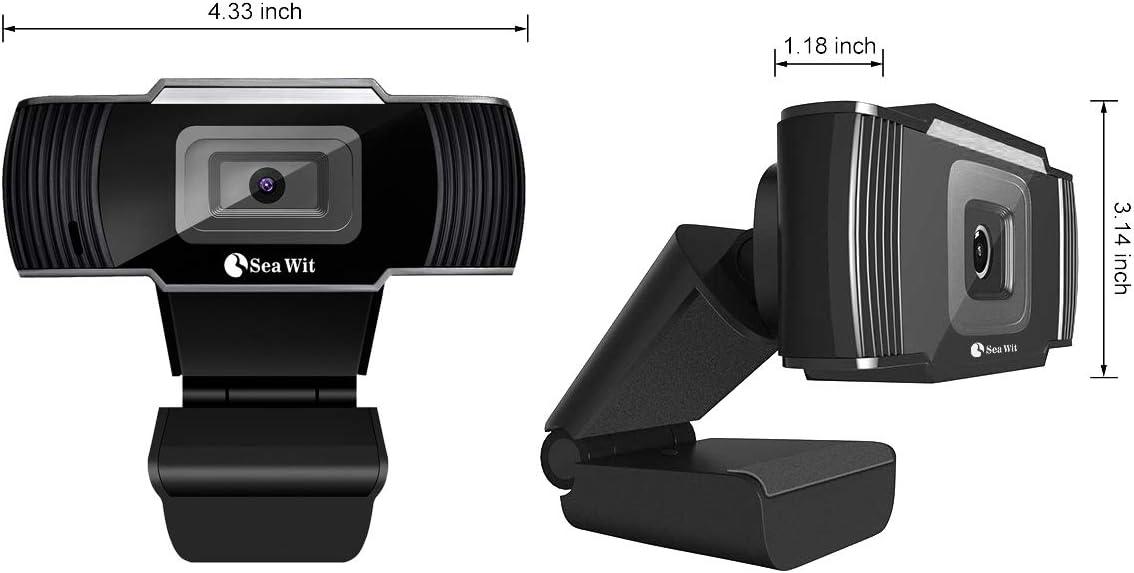 CHENGCHI HD Cámara web para PC, 30fps Webcam USB Webcam ordenador ...