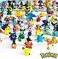 Pokemon Action Figure (24 Piece), Multicolore, Taille unique