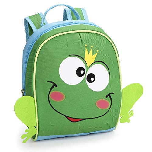 (Yodo Playful Toddler Backpack Preschool Little Kids Bag, Frog)