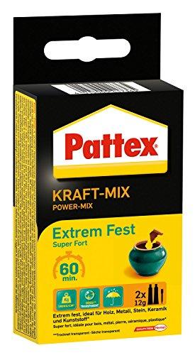 Pattex Kraft Mix Extrem Fest 2 x 12 g, PK6FT
