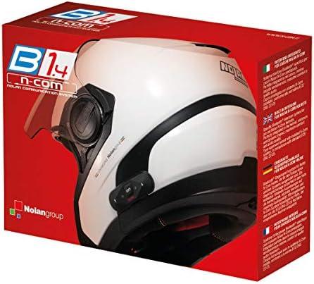 Nolan N-Com - Intercomunicador para Moto, Bluetooth, para B1.4 Twin N104 Absolute/N104 EVO/N104/N87/N44EVO/N44/N40FULL/N40: Amazon.es: Coche y moto