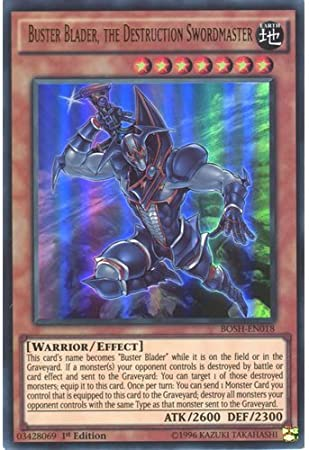 BOSH-EN019 Yu-Gi-Oh! - Breakers o Buster Whelp of the Destruction Swordsman