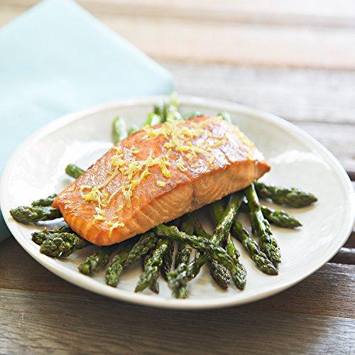 Dijon Salmon And Roasted Asparagus By Chefd Partner Keri Glassman  Dinner For 2