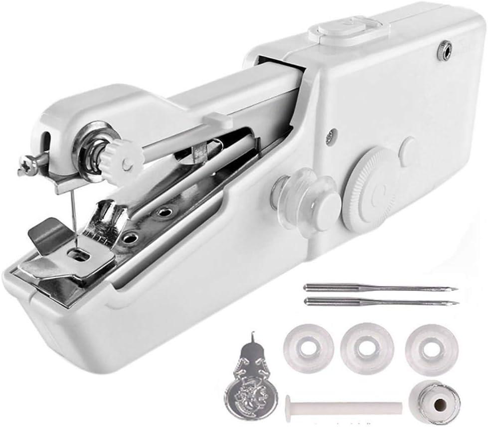 Mini máquina de coser portátil para viajeros, adultos, principiantes, niños, emergencias, bricolaje y hogar
