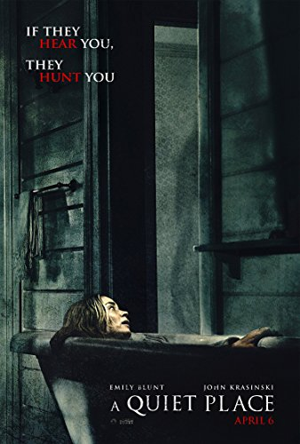 A QUIET PLACE MOVIE POSTER 2 Sided ORIGINAL 27x40 EMILY BLUN