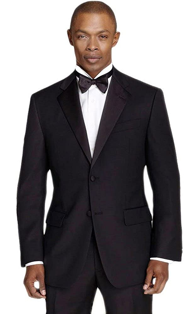 3977e837ec51 Calvin Klein Men's Black Slim Fit Tuxedo at Amazon Men's Clothing store: