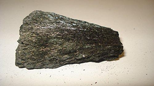 (#7) 1pc Black Tourmaline in Matrix Medium/Large AA-Grade Raw Very Pure 100% Natural Healing Crystal Gemstone Rough Formation Stones Specimen (** Brand New Item 2015 **)