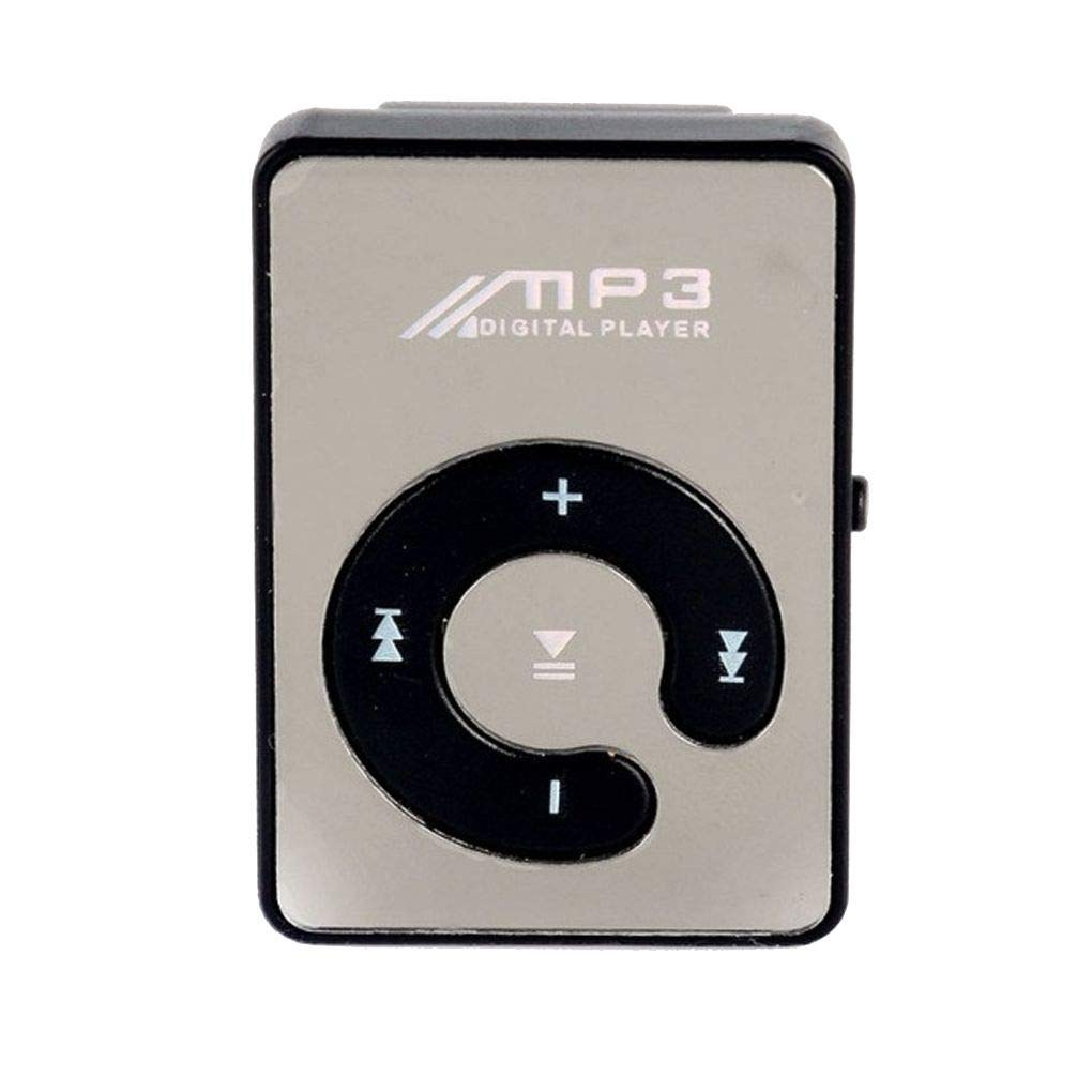 Morza Specchio Clip USB Lettore MP3 Sport Support 8GB TF Mini Musica Media Player