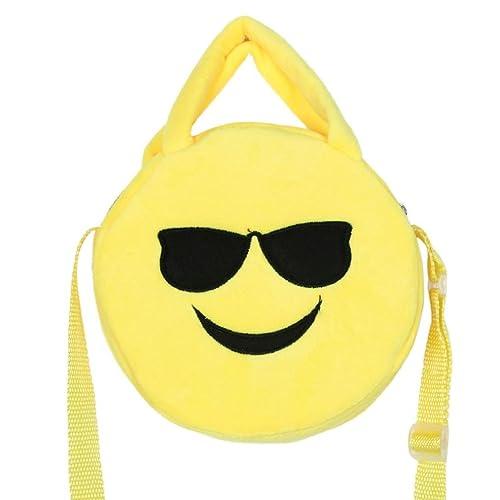 xuanou bonita forma de emoticonos Furry Mochila Escolar Bolsa de hombro mochila bolso de mano: Amazon.es: Zapatos y complementos