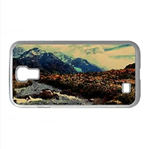Mountain Stream Watercolor style Cover Samsung Galaxy S4 I9500 Case (Argentina Watercolor style Cover Samsung Galaxy S4 I9500 Case)