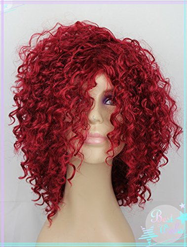 Hairstyle Medium african american Synthetic