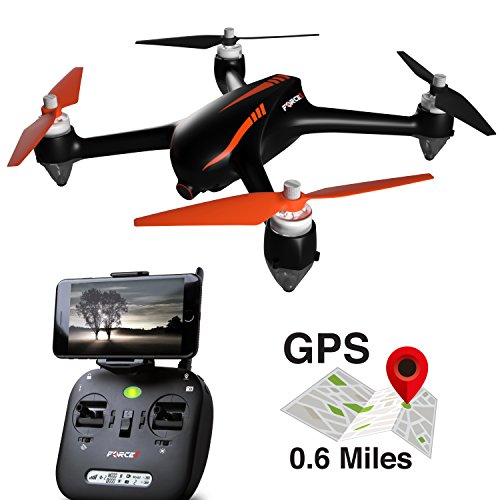 Force1 Drones with Camera and GPS – B2W Shadow MJX Bugs 2 Drone...