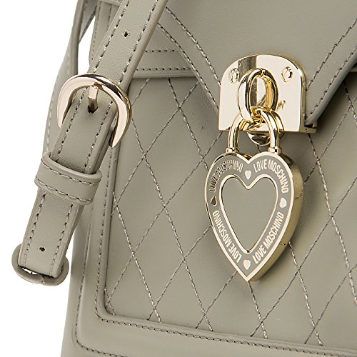 Love Moschino - Bolso cruzados para mujer gris