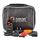 Aetertek-Electric-Dog-shock-Collar-600-Yards-Remote-Dog-Training-E-collar-with-BeepVibrationShock-Rechargeable-Submersible-train-up-to-3-dogs