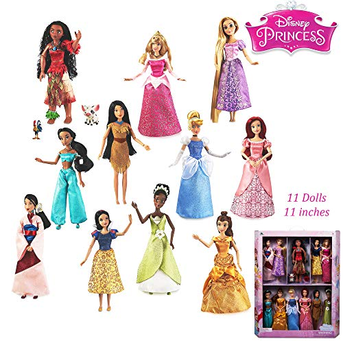 (Disney Princess Doll Gift Set - 11 x 11'' Dolls - Moana Special Version)