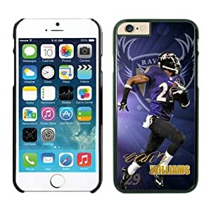 Baltimore Ravens Cary Williams iPhone 6 Cases 01 Black 4.7 inches63382_53387 by kobestar