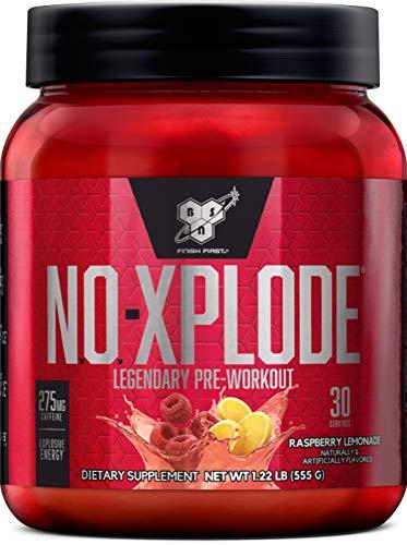 BSN No-Xplode, Raspberry Lemonade, 1.22 Pound
