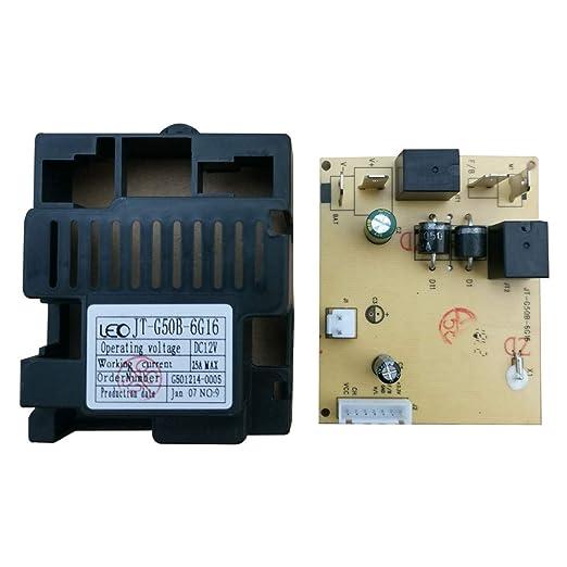 Amazon.com: WEELYE JT-G50B-6G16 - Caja de control de coche ...
