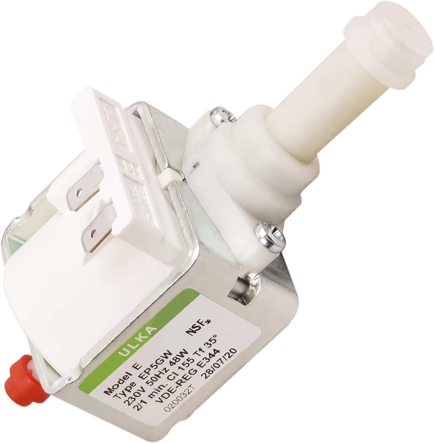 Pump Water Pump 48W 230V Ulka EP5GW for DeLonghi Saeco Coffee Machines Org