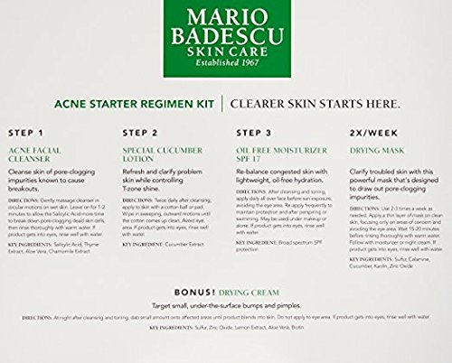 Mario Badescu Acne Starter Regimen Kit