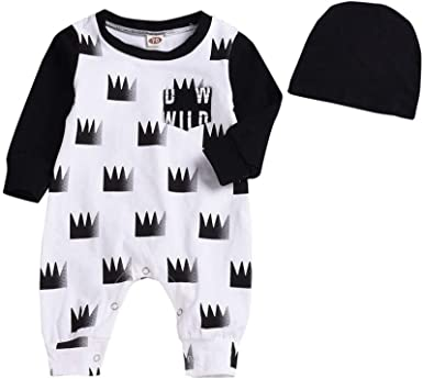 Toraway Baby Deer RomperJumpsuit Newborn Outfits Long Sleeve Christmas Playsuit One Piece Onsies Infant Clothes