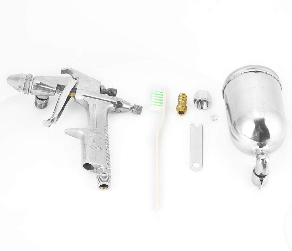 Pistola pulverizadora K3 Pistola aerográfica de alta precisión que repara la herramienta de pintura 0.5mm Boquilla de calibre