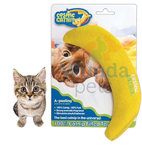 COSMIC PREMIUM AMERICAN STRONG CATNIP STUFFED BANANA...