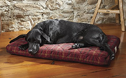 Orvis Platform Dog Bed Cover / Large Dogs 60-90 Lbs., Field Tartan,