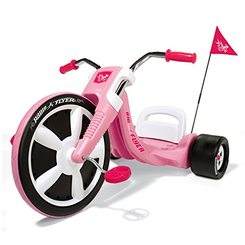 Radio Flyer Girl's Big Flyer, Kids Tricycle (Radio Flyer Girls Big Flyer)