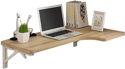 mesa plegable YNN Escritorio Esquina de Pared Mesa de Estudio de ...