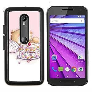 "For Motorola MOTO G3 ( 3nd Generation ) , S-type Naturaleza Sunset Agua"" - Arte & diseño plástico duro Fundas Cover Cubre Hard Case Cover"