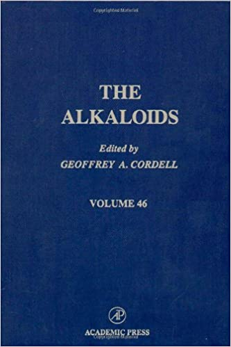 Chemistry and Pharmacology: 46 (The Alkaloids)