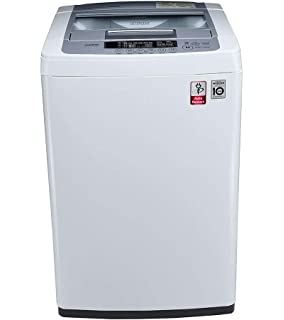 LG 6.2 kg Inverter Fully Automatic Top Loading Washing Machine  T7269NDDL, Blue and White  Washing Machines   Dryers